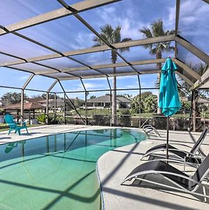 Canalside Palm Coast Home With Dock And Pool! photos Exterior