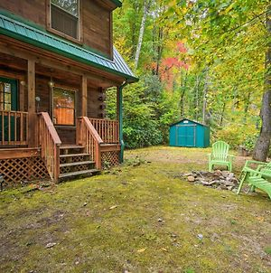 Pet-Friendly Rustic Bryson City Cabin With Fire Pit! photos Exterior