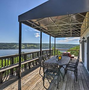 Lovely Finger Lakes Home With Lake Views And Deck! photos Exterior