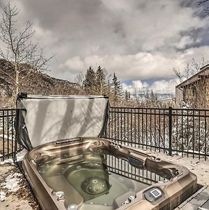 Ski-In And Ski-Out Snowmass Studio With Hot Tub! photos Exterior