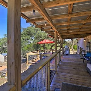 Private Hill Country House With Deck On 7 Acres! photos Exterior