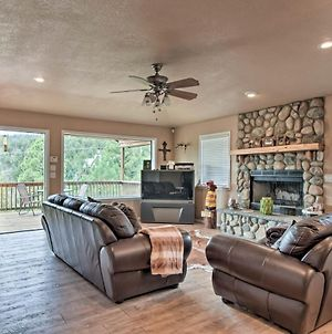 Cozy Ruidoso Home With Deck Near Grindstone Lake photos Exterior