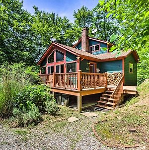 Bryson City Cabin With Deck, Grill & Fire Pit! photos Exterior