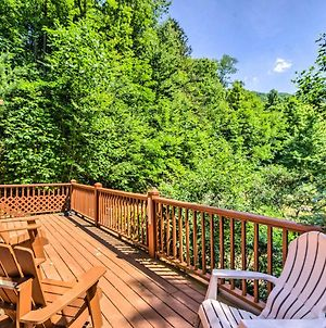 Bryson City Cabin With Deck, Grill And Fire Pit! photos Exterior