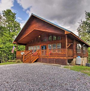'American Dream' Smoky Mtn Cabin With Hot Tub And View photos Exterior