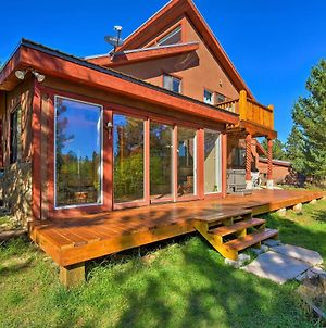 5-Acre Angel Fire Mtn Home With Hot Tub & Sauna photos Exterior