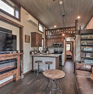 Secluded Morganton Tiny Home With Hot Tub Access! photos Exterior