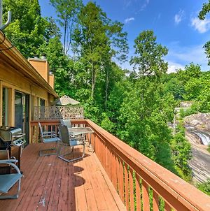 Lake Toxaway Condo With Deck And Waterfall Views! photos Exterior