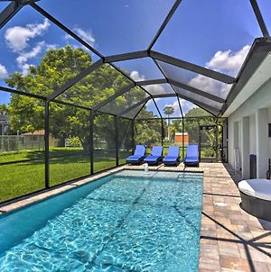 Cape Coral Home With Lavish Patio & Private Pool photos Exterior