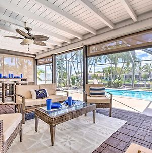 Cape Coral Waterfront Home With Pool & Dock! photos Exterior