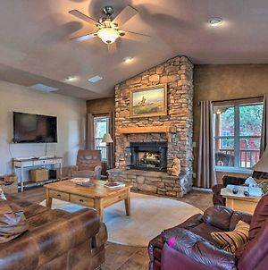 Luxury Ruidoso Home With Hot Tub And Game Room! photos Exterior