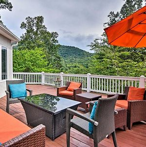 Asheville Home With Hot Tub And Lavish Game Room! photos Exterior
