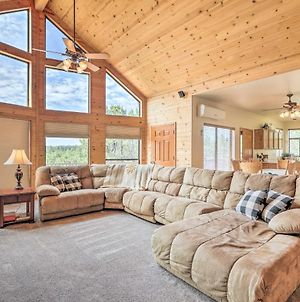 Secluded Heber Cabin With Valley Views And Deck! photos Exterior
