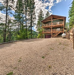 Mystic Forest Lodge With Superb Vistas And Media Room! photos Exterior