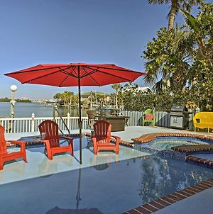 Indian Rocks Beach Home With Private Pool, Spa And Dock photos Exterior