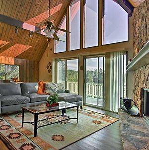 Cabin With Mtn And Tree Views - 10 Mins To Village! photos Exterior