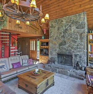 Rustic Mtn View House With Deck & Hot Tub In Breck! photos Exterior