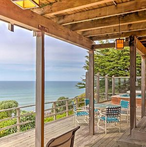 Cozy Irish Beach House With Hot Tub And Ocean Views! photos Exterior