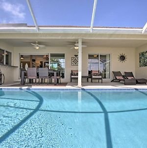 Canalfront Home With Private Saltwater Pool And Dock! photos Exterior