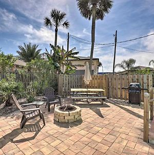 St. Augustine Beach Retreat W/ Patio+Fire Pit photos Exterior
