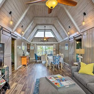 Canalfront Cottage Kayaks By Pier In Cherry Grove photos Exterior