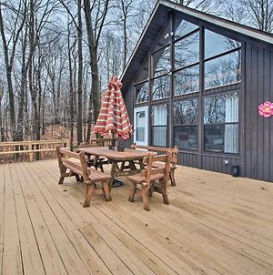 Secluded Poconos Cabin With Big Bass Amenities! photos Exterior