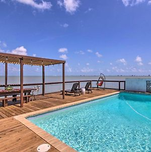 Waterfront Port Isabel Family Home With Pool & Pier! photos Exterior