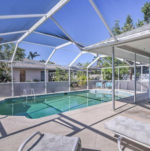 Breezy Marco Island Home With Pool - Walk To Beach! photos Exterior