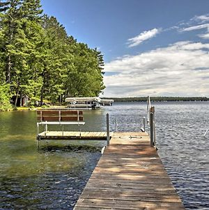 Lakefront Hayward Cabin With Dock In Williams Resort! photos Exterior