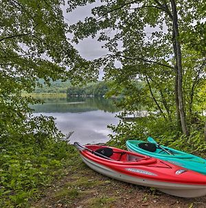 Rustic Berkshires Cottage At Lake Buel With Kayaks! photos Exterior