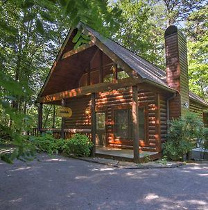 Rustic Cabin With Hot Tub And Fireplace By Smoky Mtn Np photos Exterior