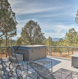 'Above It All' Ruidoso Home With Mtn Views & Hot Tub photos Exterior