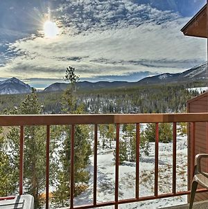 Silverthorne Condo With Pvt Balcony And Hot Tub Access! photos Exterior