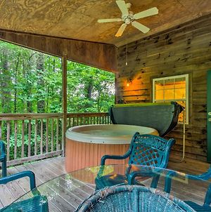 Bryson City 'Gone Biking' Cabin With Porch & Spa photos Exterior
