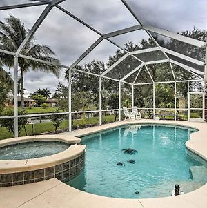 Canalfront Cape Coral Home With Private Dock! photos Exterior