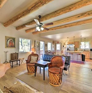 Lavish Ruidoso Downs Home With Deck And Mtn Views photos Exterior