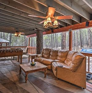 Munds Park Cabin With Furnished Deck And Fire Pit! photos Exterior