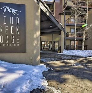 Cozy Crested Butte Condo - Walk To Ski Lift! photos Exterior