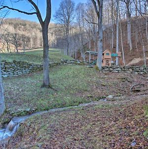 Turkey Creek Cove Cabin In Clyde With Fire Pit photos Exterior