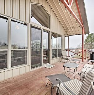 Kingston Cabin With Easy Access To Lake Texoma! photos Exterior