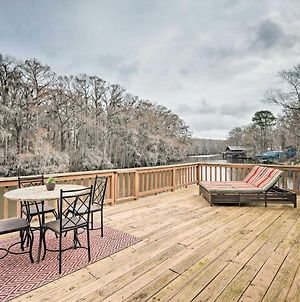 Waterfront Karnack Home With Deck And Boathouse! photos Exterior