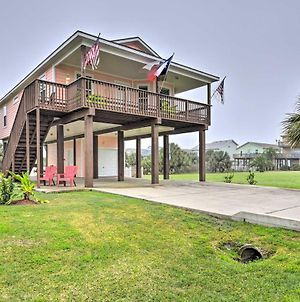 Galveston Home W/Canal Views, A¼ Mi To Beach! photos Exterior