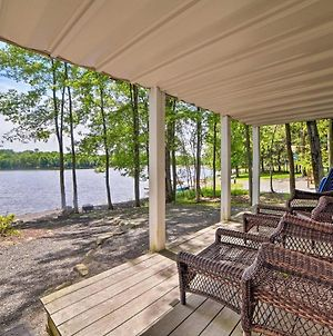 Waterfront Pocono Lake Home With Private Dock! photos Exterior