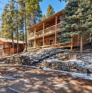 Spacious Cabin With Deck In Lincoln National Forest! photos Exterior