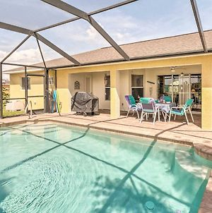 Cape Coral Family Home With Grill, Pool & Ac! photos Exterior