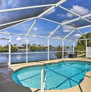 Canalfront Cape Coral House With Pool And Patio! photos Exterior