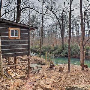 'The Treehouse Cabin' Creekside Home With Hot Tub! photos Exterior