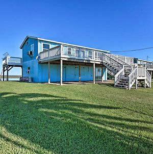 Oceanfront Sargent Beach Home With Dock! photos Exterior