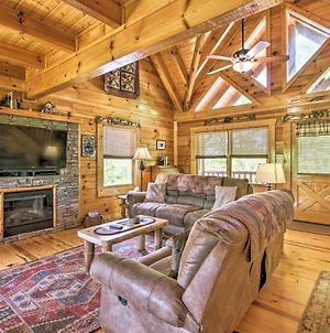 Smoky Mtn Family Cabin With Mtn-View Grill And Hot Tub photos Exterior