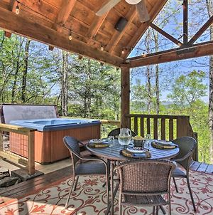 Superb Trailside Cabin With Fire Pit And Game Room! photos Exterior